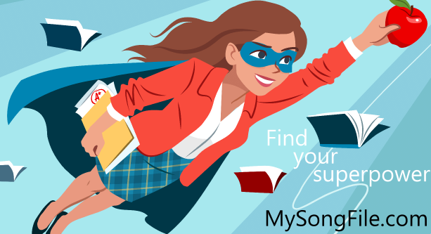 Find your superpower with MySongFile.com