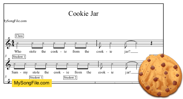 Who Stole The Cookie From The Cookie Jar Song New Cookie Jar My Song File