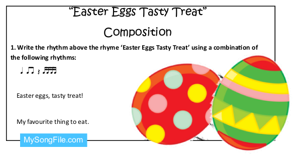 Easter Eggs Tasty Treat (Composition)