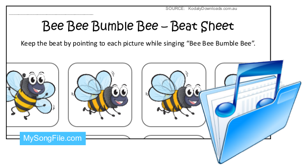Bee Bee Bumble Bee (Beat Sheet Colour)