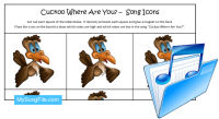 Cuckoo Where Are You (Song Icons Colour)