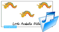 Little Arabella Miller (lyric poster)