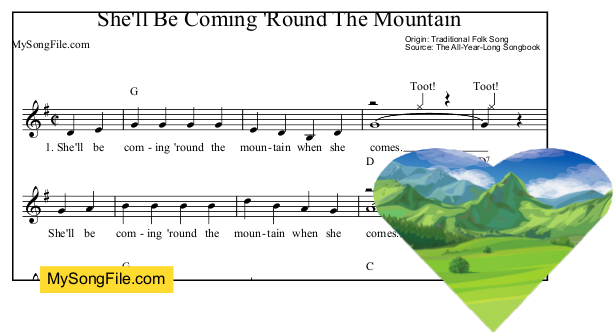 an analysis of the song shell be coming round the mountain Home - welcome to toshiba - toshiba's start experience including trending news, entertainment,  le'veon bell's time in pittsburgh is coming to an.