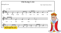 Old King Cole (do pentachord)