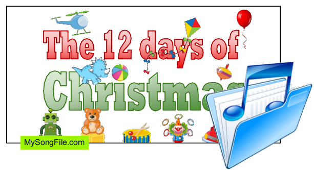 Twelve Days of Christmas Toys (Singing Story)