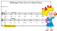 Bellringer Pray Give Us Some Peace