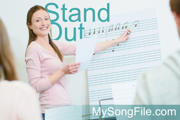 Stand out with MySongFile.com