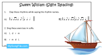 Sweet William (Sight Reading)