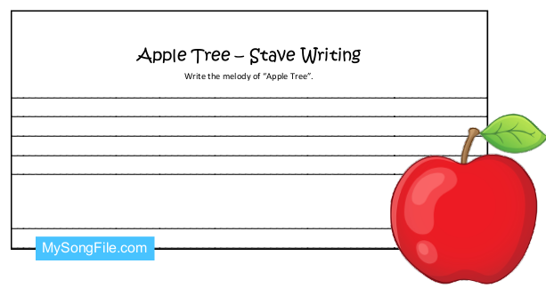 Apple Tree (Stave Writing)