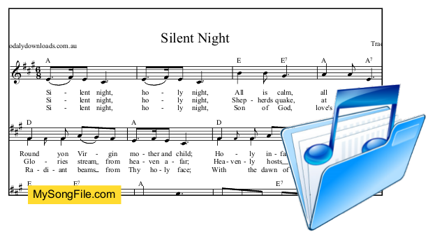 Silent Night - A Major