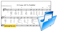 O Come All Ye Faithful - A Major