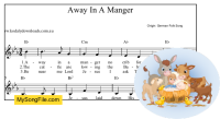 Away In A Manger (German) - Eb Major