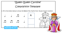 Queen Queen Caroline (Composition Template)