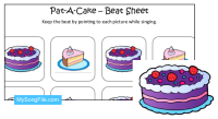 Pat-A-Cake (Beat Sheet Colour)