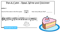Pat-A-Cake (Read Write and Discover)