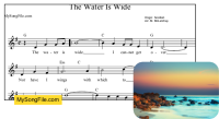 The Water Is Wide (G Major)