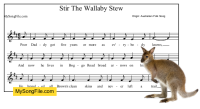Stir The Wallaby Stew
