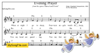 Evening Prayer (do = A)