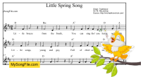 Little Spring Song