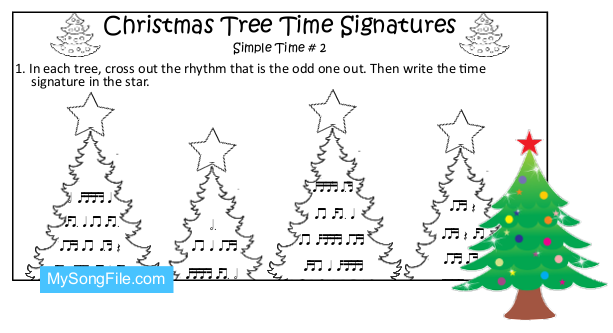 Christmas Tree (Simple Time Signature no2)