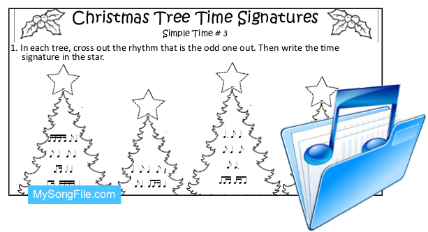 Christmas Tree (Simple Time Signature no3)