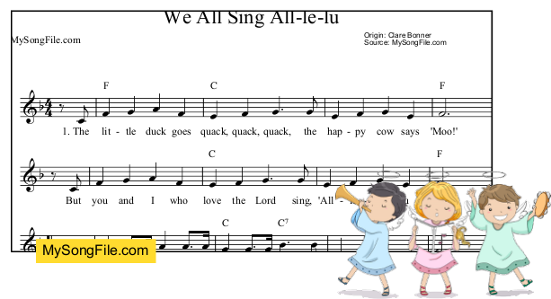 We All Sing All-le-lu