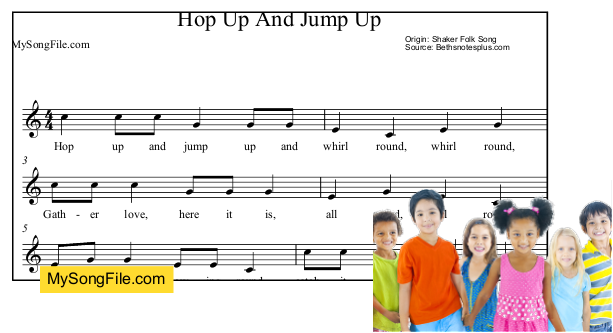 Hop Up And Jump Up