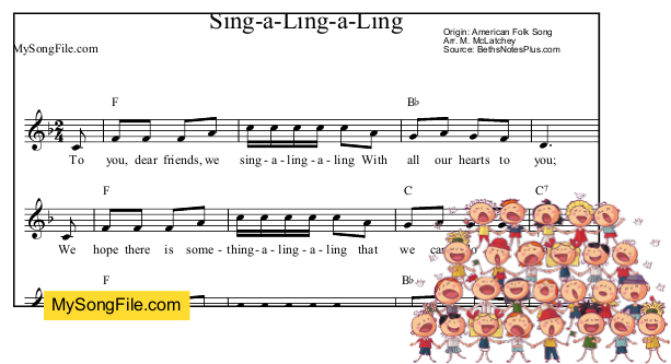 Sing-a-Ling-a-Ling