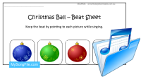 Christmas Baubles (Beat Sheet Colour)