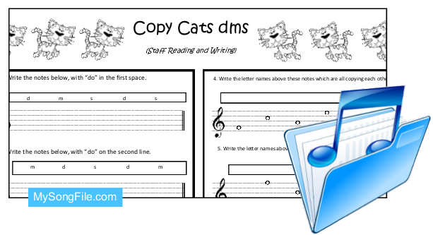 Copy Cats (Staff Reading and Writing dms)