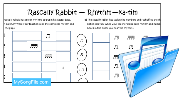 Easter ka-tim (Rhythmic Dictation)
