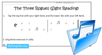 The Three Rogues (Sight-Reading)