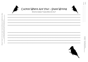 cuckoo essay